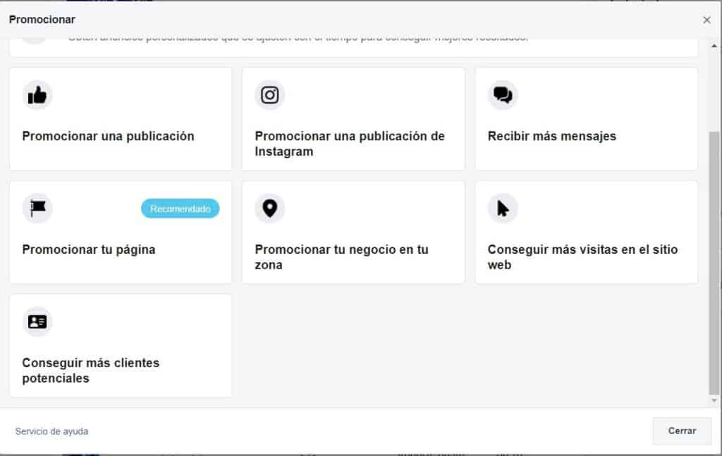 Facebook; guía para crear anuncios